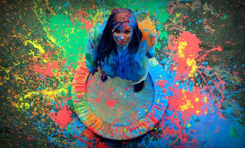 Paint&Jump Ania Wanatowicz