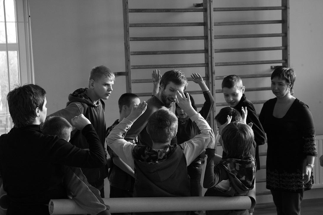 Warsztaty z Michałem Bałdygą, fot. Marcin Kiełkiewicz